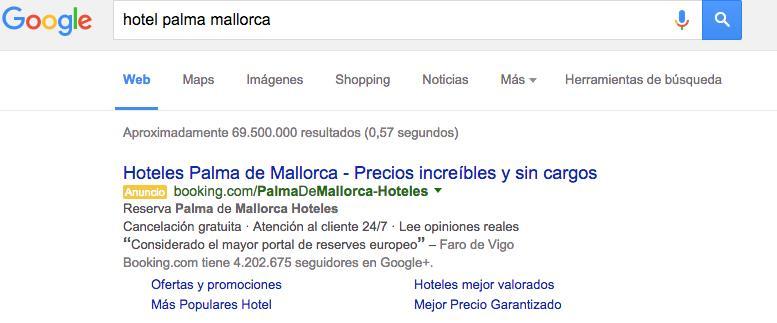 busqueda hotel palma de mallorca google 1
