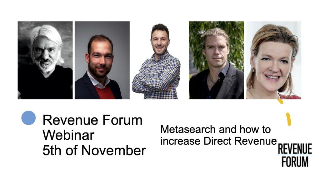 Webinar Revenue forum