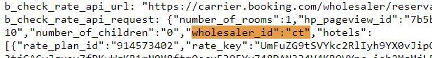 wholesaler id booking basic