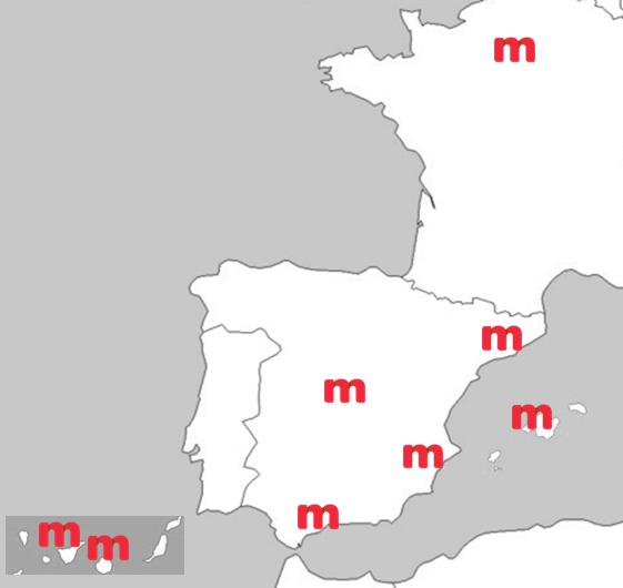 Delegaciones Mirai