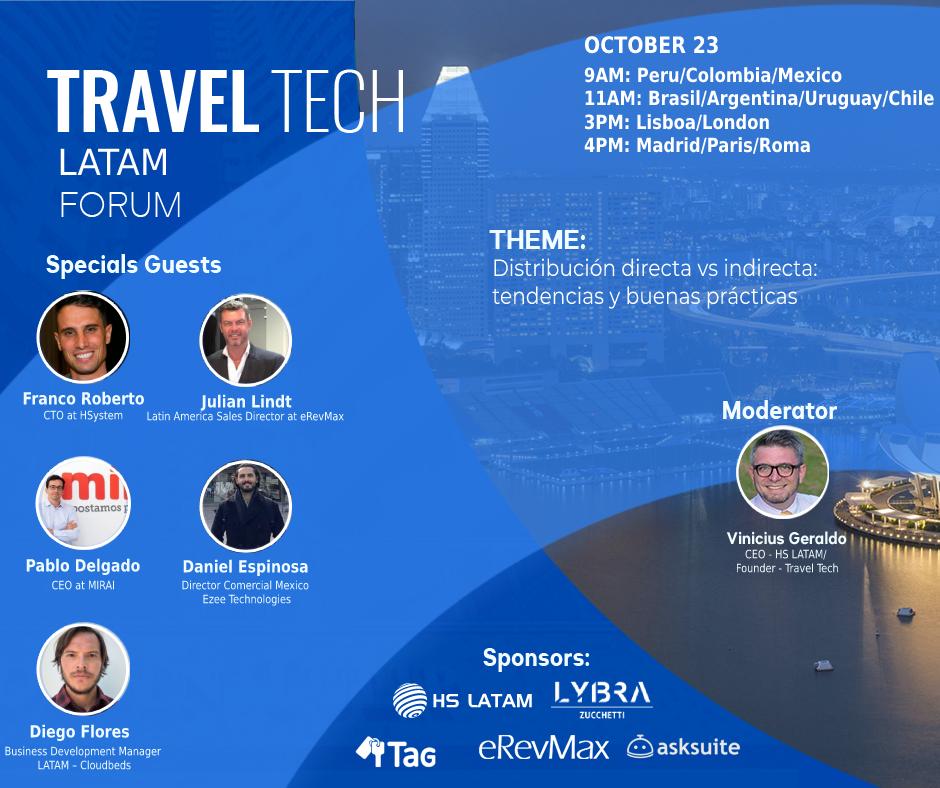 Travel tech forum