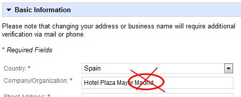 Google Places para hoteles