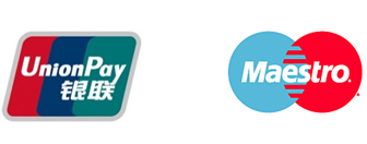 Logos Union Pay y Maestro