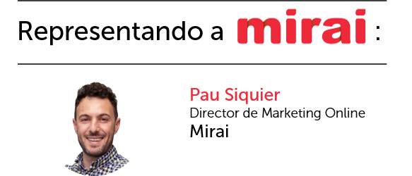 Pau representando a Mirai