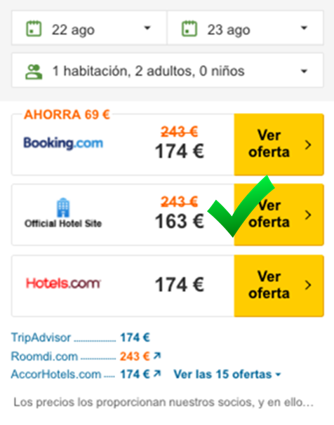 Post 3 - Mejor precio en web