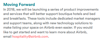 airbnb moving forward 2018