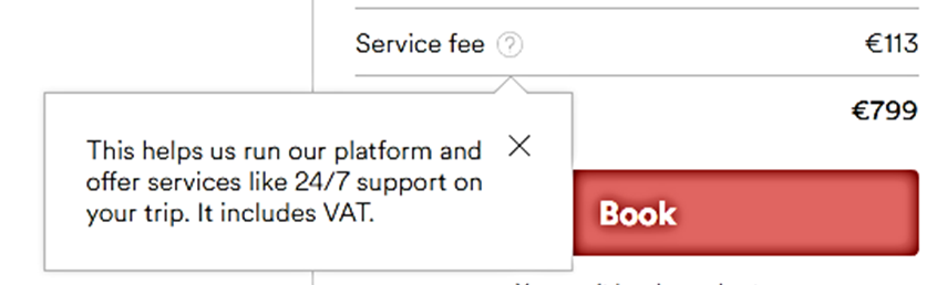 airbnb service fee explanation