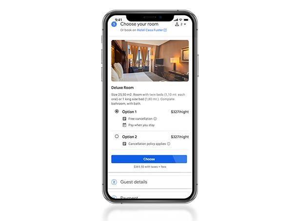 Google Room Cluster Mobile