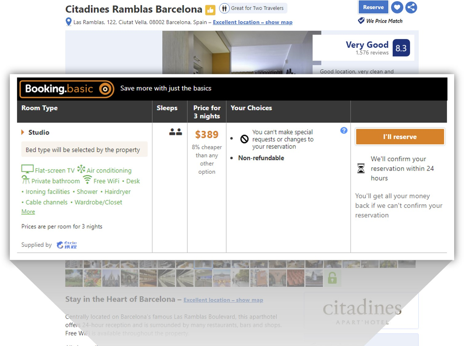 citadines booking.basic