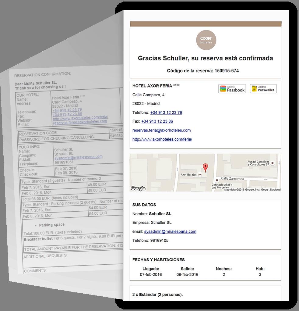 email confirmacion reserva hotel mirai desktop